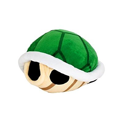 Super Mario Bros Koopa Shell Plush Big Size 16.5 inch Green Turtle shell