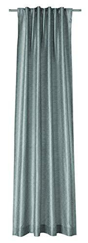Joop! Silk Allover Vorhang mit verdeckten Schlaufen Gardinen Vorhänge Stores - Größe 130 x 250 cm - Farbe grau/beige