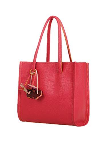 TEBAISE Handtaschen Damen Umhängetasche Taschen Handtasche Shopper Damen Handtaschen Groß Taschen Faux Leder Moderne Handtasche Gross Schultertasche Frauen Umhängetasche