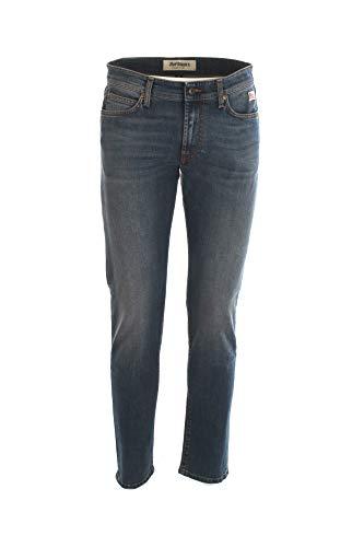 Roy Roger's - Jeans Slim Uomo 517 in Denim Stretch - Taglia 32