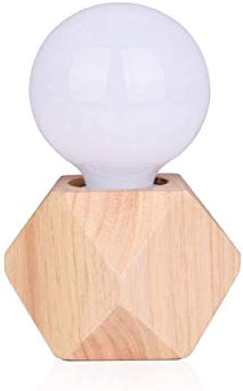 ChandelierWeiß Massivholz Polygon Nordic Einfachheit Warme Mode Kreative Persnlichkeit Schlafzimmer Wohnzimmer 7,5  15 Cm