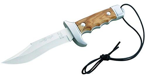 Nieto 1010223810 Messer Bowie Olivenholz-Schalen Gesamtlänge: 20.7cm, Holz, Braun