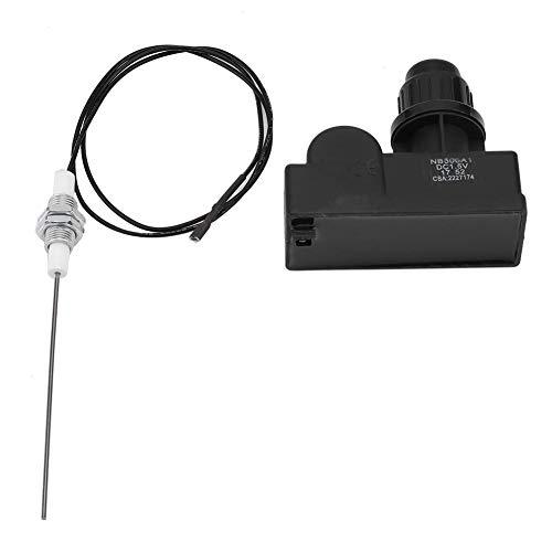 Mumusuki Funkenerzeuger Druckknopf Grill Zünder Picknick Grill Gasgrill Druckknopf Funkengenerator Zündsatz mit 60 cm Kabel