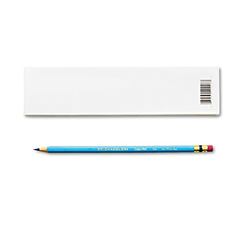 Prismacolor 20028 Col-Erase Pencil w/Eraser Non-Photo Blue Lead/Barrel Dozen