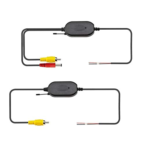 Fornateu Auto WiFi Rückfahrkamera-Signal-Empfänger 2.4G Wireless Auto-Rückfahrkamera Transmitter