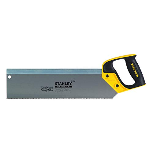 Stanley 217202 14-inch 350mm FatMax Tenon/ Back Saw 13tpi