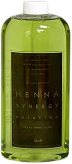 Henna Synergy Solution for Henna Dye 33.8 fl.oz- Bright Henna Hair Color Strengthen Coating Power - Protect Scalp & nutrition