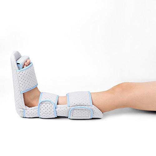 Orthotics Night Splint, Foot Rest Achilles Tendonitis Plantar Fasciitis Rest Rail Broken Ankle Boots Rail Additional Comfort and Reduces Pain,S