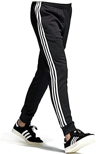 (アディダス) adidas ジャージー パンツ メンズ スーパースター トラック ジャージパンツ オリジナルス サイズXS ブラック/ホワイト