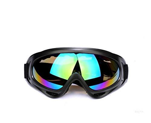 Exterior Gafas de esquí de doble capa anti-niebla grande máscara de esquí gafas esqui nieve hombres y mujeres snowboard gafas invierno deportes gafas anti-nieve gafas para hombres, mujeres y jóvenes
