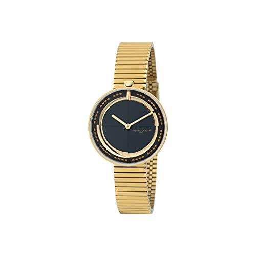 Pierre Cardin Marais Mirror CMA.0009 - Reloj de pulsera para mujer (cuarzo, acero inoxidable, con correa de acero inoxidable)
