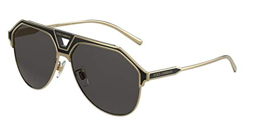 Dolce & Gabbana Sonnenbrille DG2257 133487 Sonnenbrille Herrenfarbe Goldgraue Linsengröße 60 mm