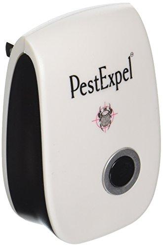 PestExpel Ultrasónica Repelente de plagas deshacerse de Las plagas rápido Mejor Repelente contra Ratones, Ratas, roedores, Insectos y Moscas no a Spray, Pegamento y trampas de Control de plagas