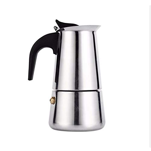 Stainless Steel 12 cup Moka Pot Espresso Maker, Stove-top Coffee maker, Cuban Cafetera, Percolator, Brewer, Coffee Maker