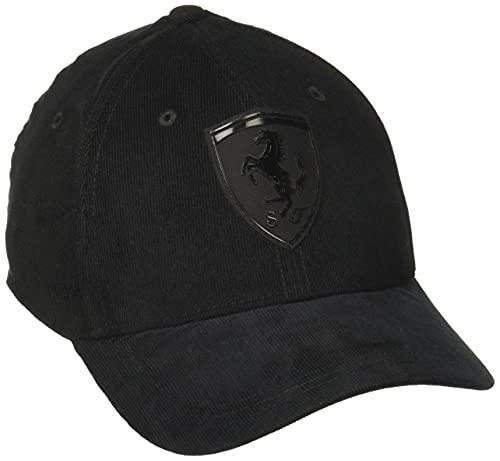 PUMA Ferrari Style BB Cap, Puma Black, Adult
