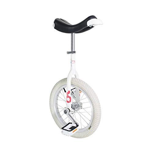 Einrad OnlyOne 16' weiß Indoor Alufelge, Reifen wei