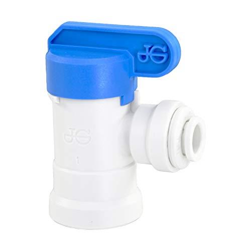 Rubinetto di chiusura John Guest filo 1/4 sistema metrico tubo acqua Ø 8 mm