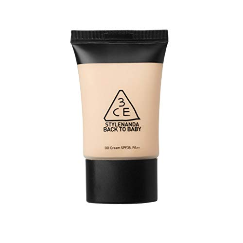 3CE BACK TO BABY BB CREAM SPF35/PA++ Korean Cosmetics #Dab1143