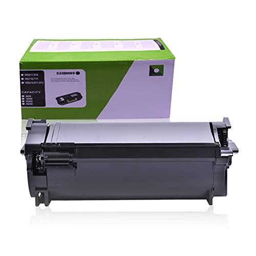 SVUZU Lexmark 52D0H0G - Cartucho de tóner compatible con impresoras Lexmark MS710, MS711, MS810, MS811, MS812, MX710, MX711 y MX810
