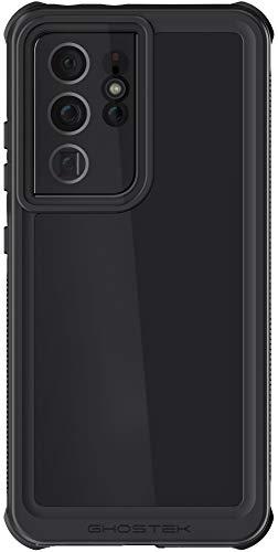 Ghostek Nautical - Carcasa para Samsung Galaxy S21 Ultra impermeable con protector de pantalla y sellado hermético, protección resistente para Samsung Galaxy S21 Ultra 5G (6,8 pulgadas), color negro