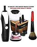 UPGRADED NEW 2019 Pro Makeup Brush Cleaner & Dryer Kit - The Best Professional Makeup Brush Cleaning Tool Great For Washing All Cosmetic Make up Brushes In 30 Seconds - Natural Cleaning Solution