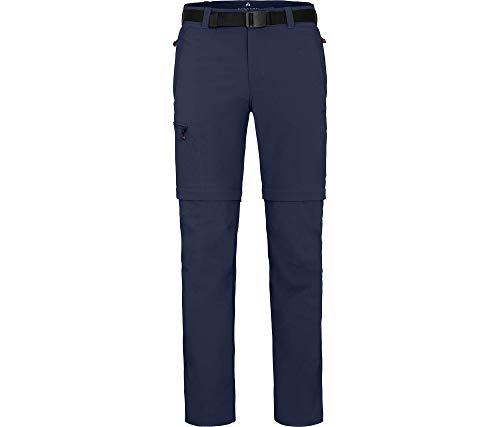 Bergson Herren Zipp-Off Funktionshose Baker, Peacoat Blue [368], 52 - Herren