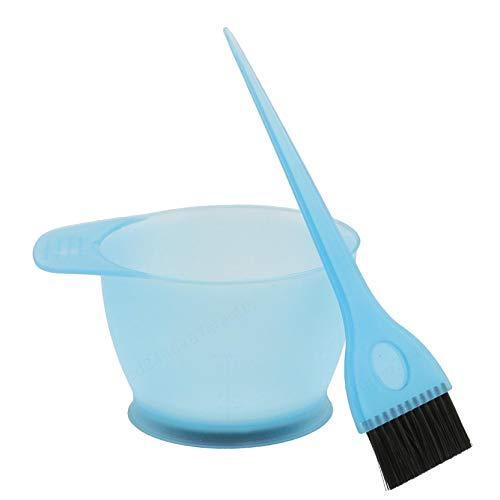 LAQI Kit de Brosse de Peigne de mélange de Couleur Bleue définie des Outils de Teinte