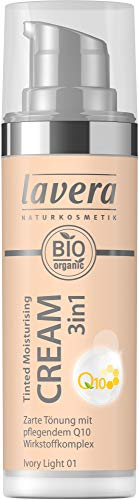 Lavera Bio Tinted Moisturising Cream 3in1 Q10 -Ivory Light 01- (2 x 30 ml)