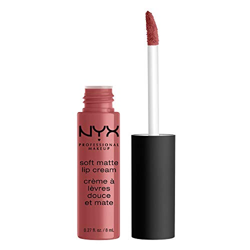 NYX Professional Makeup Soft Matte Lip Cream, Cremiges und mattes Finish, Hochpigmentiert,...