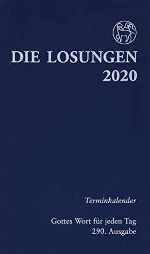 Die Losungen 2020 Deutschland / Die Losungen 2020: Terminkalender