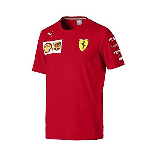FERRARI Camiseta Oficial Leclerc Small