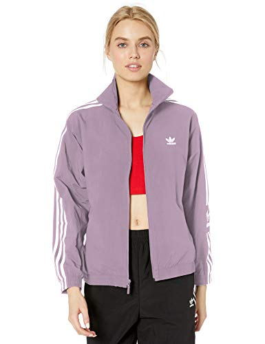 adidas Originals Women's Lock Up Track Top Jacket, soft vision, X-Small