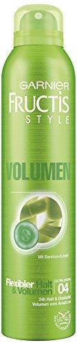 Garnier Fructis Style Haarspray Volumen Power, für 24h flexiblen Halt & Volumen, 2er Pack (2 x 250 ml)