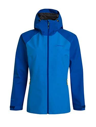 Berghaus Damen Paclite 2.0 Wasserdichte Jacke Übergangsjacke Hardshell Gore-Tex Wasserdichte Jacke, Blau, XL