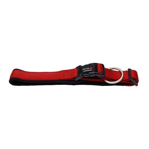 Wolters | Halsband Professional Comfort rot/schwarz | Halsumfang 50 - 60 x B 4,5 cm