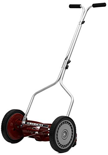 American Lawn Mower 1304-14 14-Inch 5-Blade Push Reel Lawn Mower (Renewed)