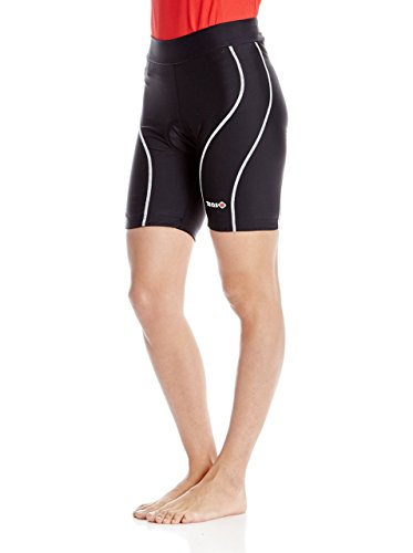 IZAS Veleta Shorts de Cyclisme Femme, Noir, FR : 2XL (Taille Fabricant : XXL)