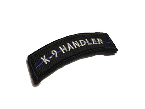 The Thin blue line k9 handler Uniform Tab (hook/loop)