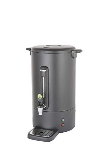 HENDI Zaparzacz do kawy Concept Line matowa czerń - 13 L | 230V / 1650W | 357x380x(H)502mm