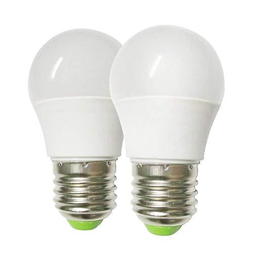 GRV E27 Base LED Bombilla no regulable 6-5730 SMD 3Watt Luz plástica