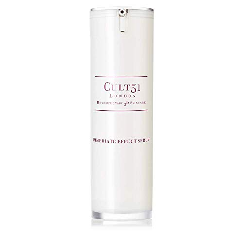CULT 51 Immediate Effect Serum, face serum, targets fine lines, wrinkles, dark circles and skin imperfections