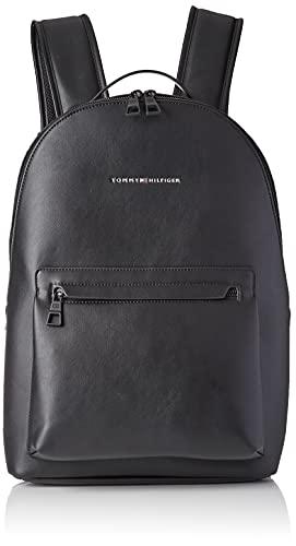 Tommy Hilfiger TH Metro Backpack, Zaino Uomo, Nero, Medium