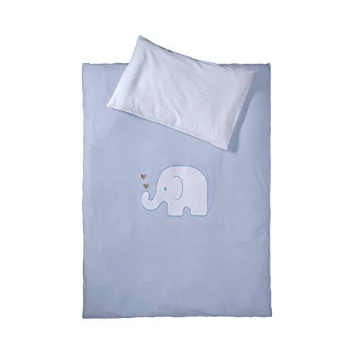 Jersey-Bettwäsche Elefant 40x60 / 100x135 cm