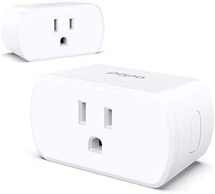 POPA Smart Plug Wi Fi Mini Outlet Socket Works with HomeKit iOS12 or Alexa Google Assistant product image
