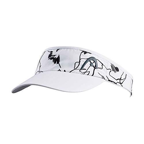 HEAD - Tennis-Sonnenblenden für Damen in Weiß Grau