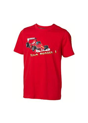 OCC sportwear Ferrari Équipe T-Shirt Numéro 1. Scuderia Rouge Taille 12 Ans