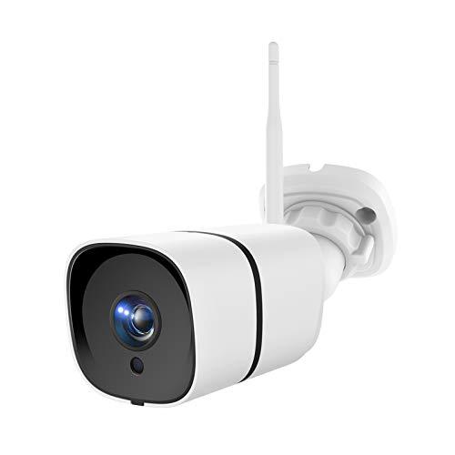 NETVUE Überwachungskamera Aussen, 3MP WLAN Kamera Outdoor IP66 wasserdicht Außen Sicherheitskamera mit Nachtsicht, Zwei-Wege-Audio, Bewegungserkennung, Unterstützt bis zu 128G SD-Karte