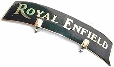 Enfield County Royal Enfield Vintage Front Brass Number Plate