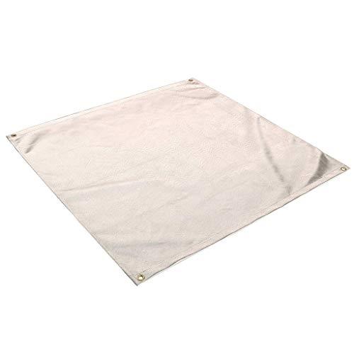 FOLODA Estera ignífuga, resistente al calor, apta para el patio trasero de la alfombra protectora de la estera de la protección de la estera de la espuma de la almohadilla