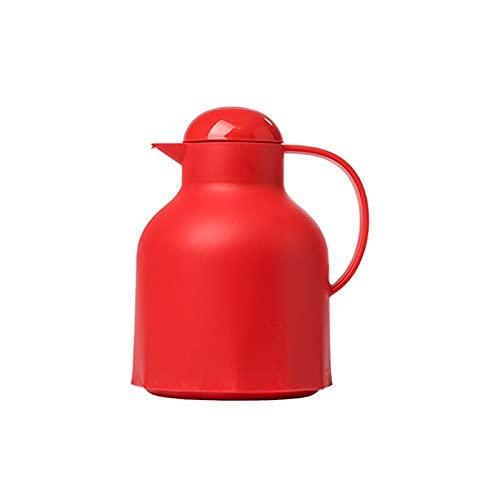 Jarra de café térmica tetera Aislamiento bote mini agua hervidor térmico jarra térmica mantener frío hervidor de hielo portátil multicolor lindo botella de agua jarra de agua (1000ml) Jarras Térmicas